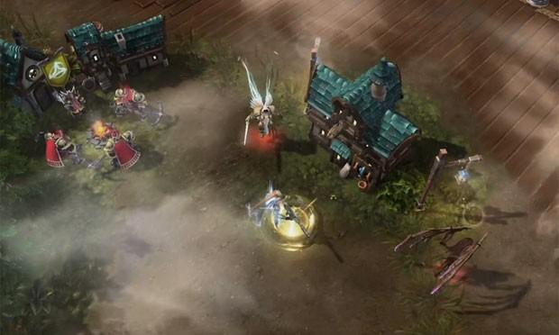 Cenários influenciarão partidas on-line de 'Heroes of the Storm' (Foto: Divulgação/Blizzard)