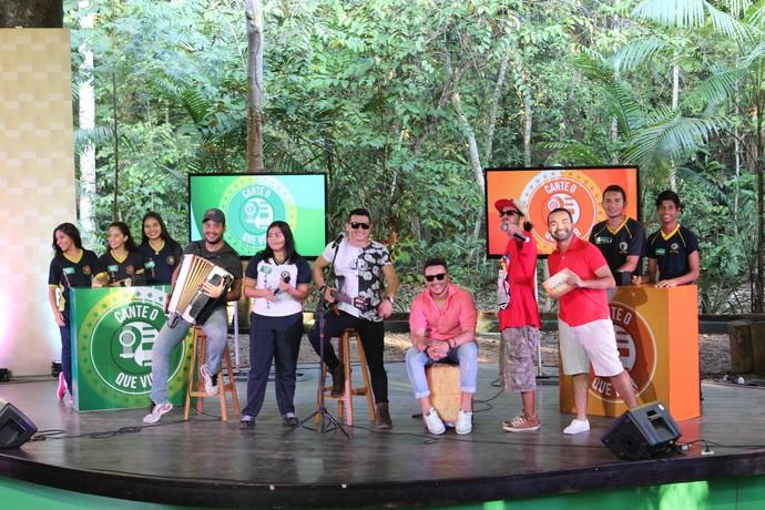 'Paneiro' destaca escolas classificadas para semifinal do 'Cante o que Vier' (Foto: Katiúscia Monteiro/ Rede Amazônica)
