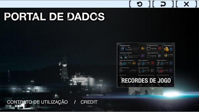 Portal de Dados é como um guia do app (Foto: Thiago Barros/TechTudo)
