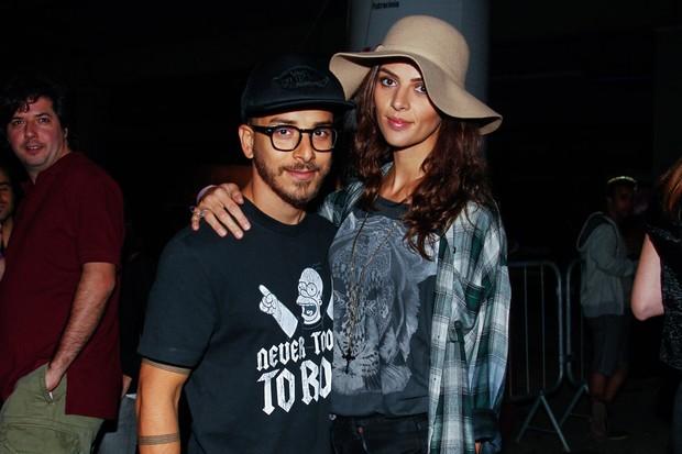Júnior Lima e Mônica Benini (Foto: Manuela Scarpa/Foto Rio News)