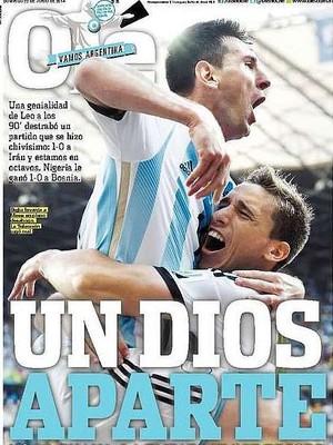 8bbc7b945e Jornais exaltam Messi após golaço marcado no fim do jogo contra o ...