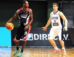 Nezinho, Limeira X Argentino de Junin, Liga Sul-Americana de basquete (Foto: Marcelo Figueras / FIBA)