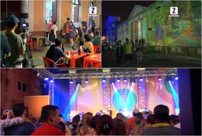 Zappeando mostra os bastidores dos eventos em homenagem aos 346 anos de Manaus (Foto: Zappeando)