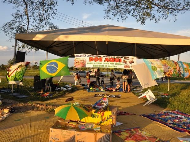 Barca das Letras distribuirá livros, gibis e revistas com os participantes da Feira de Ciências e os visitantes (Foto: Divulgação)