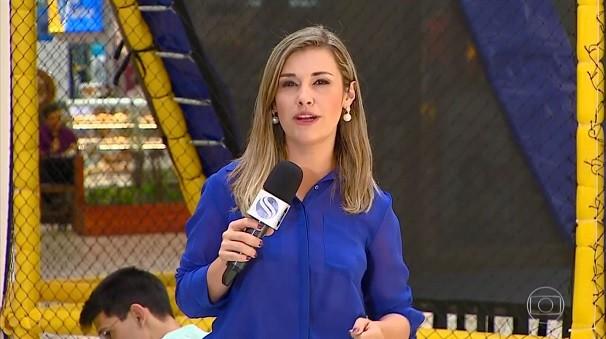 Priscilla Bitencourt mostrou um treinamento de primeiros socorros (Foto: Divulgação/TV Sergipe)