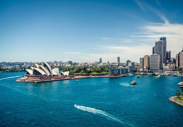 Sidney, na Austrália (Foto: Thinkstock)