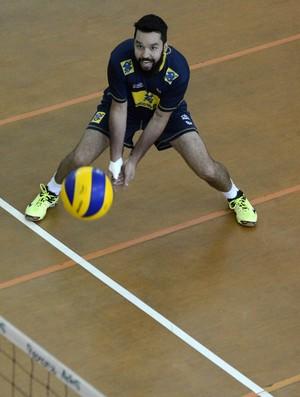 William levantador seleção brasileira vôlei (Foto: Alexandre Arruda/CBV)