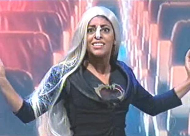Samantha Schmutz no Jô (Foto: Reprodução TV Globo)