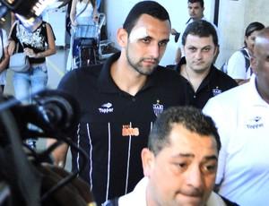 Rafael Marques, zagueiro do Atlético-MG (Foto: Marco Antônio Astoni / Globoesporte.com)