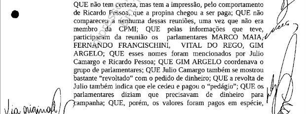 Em delação premiada, senador Delcídio do Amaral cita o deputado federal pelo Paraná Fernando Francischini (Foto: Reprodução)