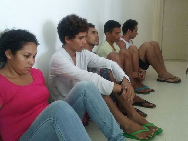Grupo é suspeito de assaltar idoso (Foto: Divulgação/Polícia Civil)