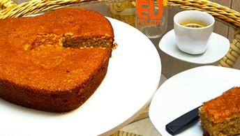 Rápido, sem lactose e fonte de fibras: veja receita de bolo de banana fitness (Eu Atleta / foto: Renata Domingues)