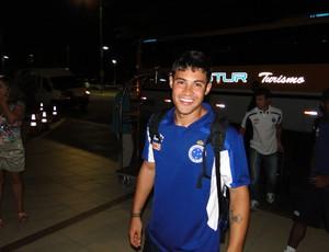 Vinícius Araújo, atacante do Cruzeiro (Foto: Marco Antônio Astoni / Globoesporte.com)