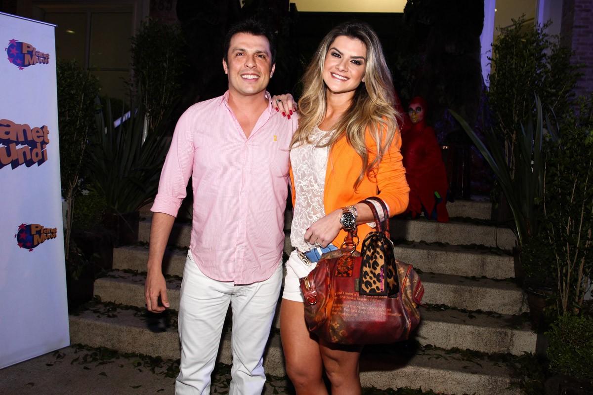 Ceará e Mirella Santos (Foto: Manuela Scarpa/Foto Rio News)