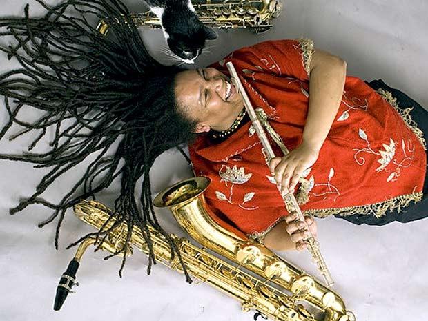 A saxofonista norte-americana Hope Clayburn, atração do Festival Latinidades, em Brasília (Foto: Festival Latinidades/Divulgação)