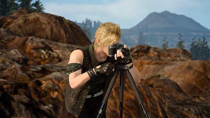 Fotografias rendem muito em Final Fantasy XV (Foto: Reprodução/Murilo Molina)