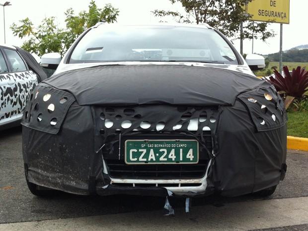 Novo Focus, alinhado ao modelo europeu, roda em testes por São Paulo (Foto: Rodrigo Mora/G1)