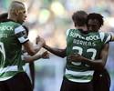 Ex-Corinthians marca, mas Sporting vira sobre o Porto e fica na liderança