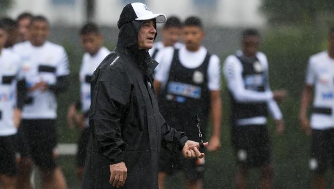 Levir Culpi treino Santos (Foto: Ivan Storti/ Santos FC)