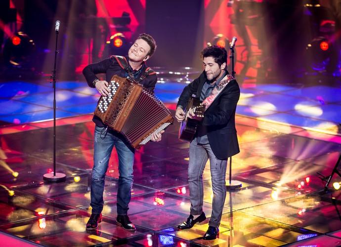 Daniel Michel Teló musical Shows ao Vivo (Foto: Isabella Pinheiro/Gshow)