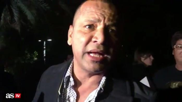 BLOG: Discussão e confusão: pai de Neymar se irrita com presença de jornalistas em festa