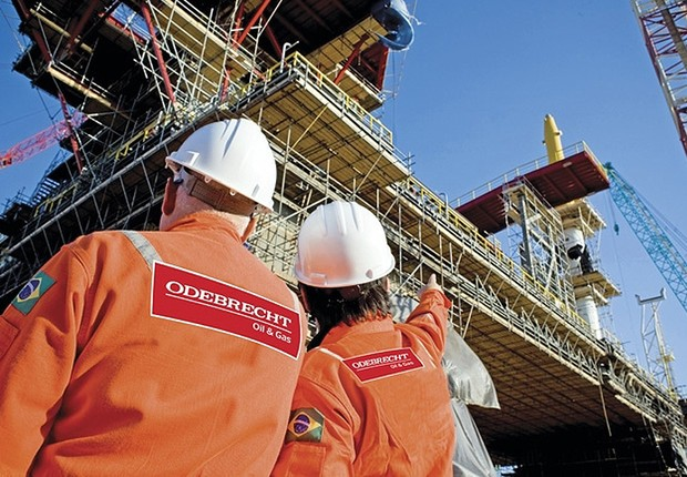 Projeto da Odebrecht Óleo e Gás (Foto: Divulgação)
