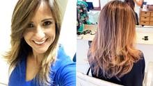 Adriana Cutino exibe novo visual e aposta na técnica do ombré hair (Arquivo Pessoal)