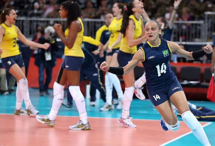 fabi vôlei londres 2012 olimpiadas (Foto: Getty Images)