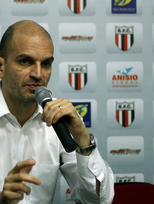 Presidente do Botafogo-SP, Gustavo Assed (Foto: Cleber Akamine / globoesporte.com)