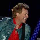 Bon Jovi fecha noite com hits e beijo na boca (Flavio Moraes/G1)
