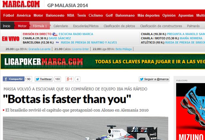 Felipe Massa, frame, Marca (Foto: Reprodução)