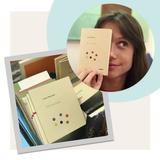 """Luiza Mussnich lança o livro """"Microscópio"""" (Foto: Divulgação)"""