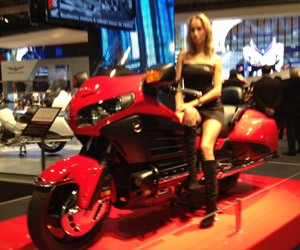 Honda Goldwing (Foto: Rafael Miotto/G1)