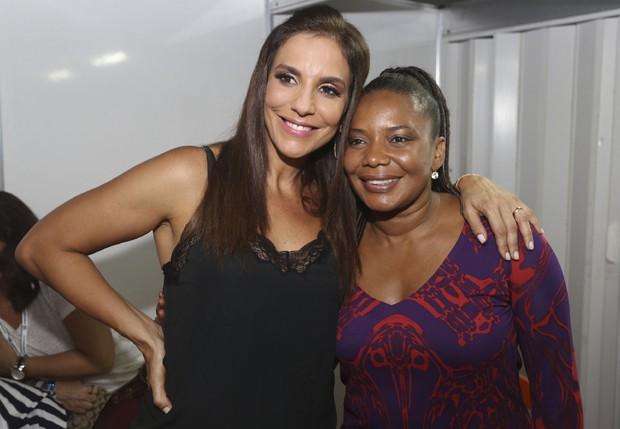 Ivete Sangalo e Margareth Menezes (Foto: Ricardo Cardoso/Ed Globo)