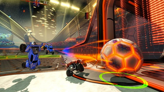 Rocket League mistura carros e futebol (Foto: Divulgação)