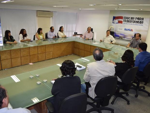 Walter Pinheiro assumiu a secretaria de Educação na sexta-feira (Foto: Suami Dias/Ascom Educação)