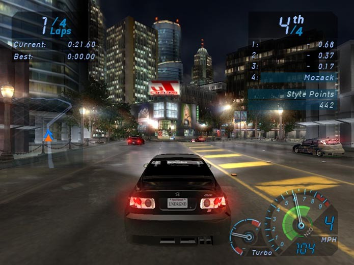 Need for Speed Underground (Foto: Reprodução)