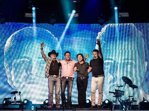 Turnê Mansão da Música com Show de Chitãozinho & Xororó e Bruno & Marrone (Foto: Divulgação)