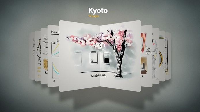 Paper by FiftyThree é um dos melhores apps para desenhos do iOS (Foto: Divulgação/Paper by FiftyThree)