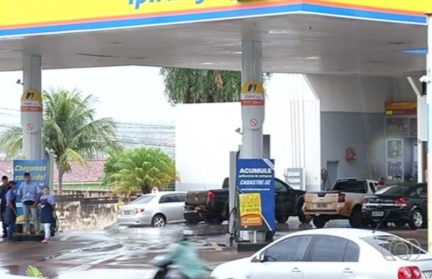 Justiça condena posto por reajuste abusivo de etanol em Rio Verde, Goiás (Foto: Reprodução/TV Anhanguera)