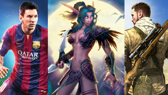 FIFA 15, World of Warcraft e Sniper Elite 3 estão entre as ofertas da Black Friday (Foto: Reprodução)
