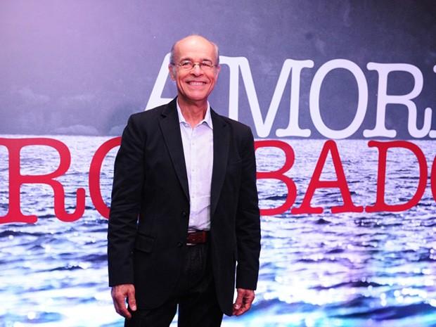 """Osmar Prado em """"Amores Roubados"""" (Foto: João Cotta / TV Globo)"""