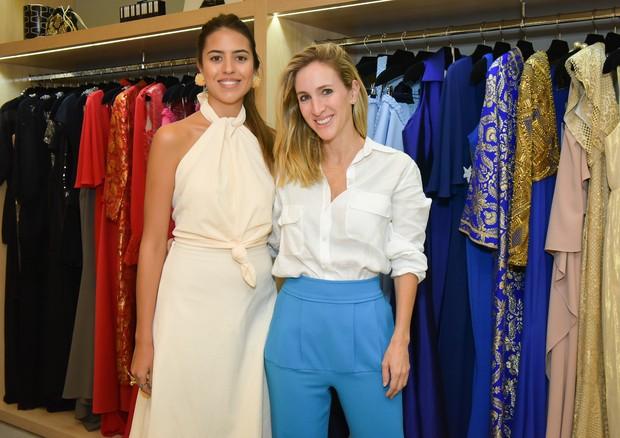 Amanda Cassou e Luiza Ortiz (Foto: Cleiby Trevisan/Divulgação)