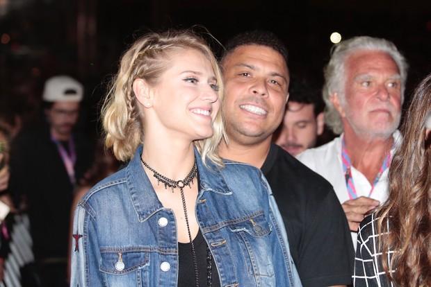 Ronaldo e Celina Locks (Foto: Rafael Cusato/EGO)