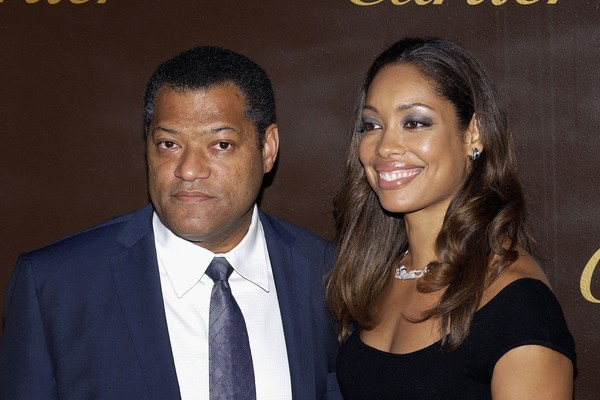 Laurence Fishburne e Gina Torres (Foto: Getty Images)