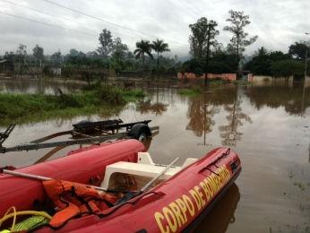 Jataizinho, no norte do estado, foi um dos municípios atingidos pela chuva (Foto: Alberto D' Angele / RPC TV)