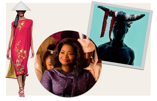 Três destaques da cena cultural atual para conferir já (Foto: Getty Images, Paulie Wax, Reprodução, Revista Ebony, Shutterstock, Cortesia Da Galeria Dominique Fiat e Divulgação)