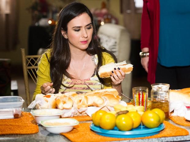 É muita comida para uma boca só! (Foto: João Miguel Júnior / TV Globo)