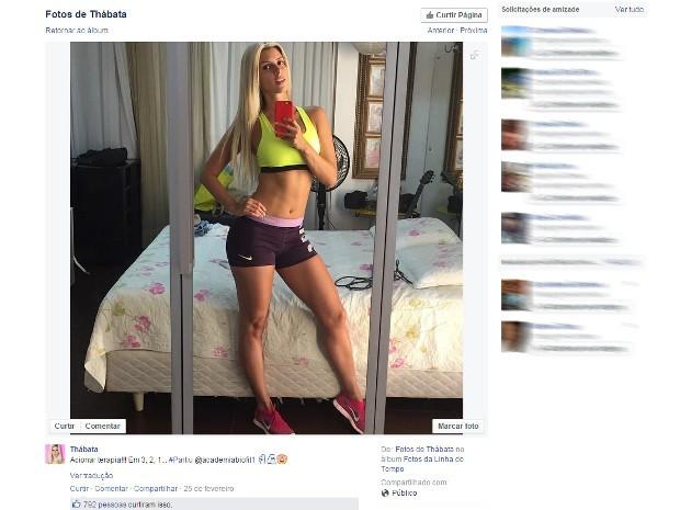 Cantora Thábata irá fazer dupla com Chimbinha (Foto: Reprodução / Facebook)