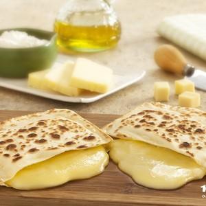Pastel de queijo tostado: inovação criada por Vera para conquistar um novo público (Foto: Divulgação)